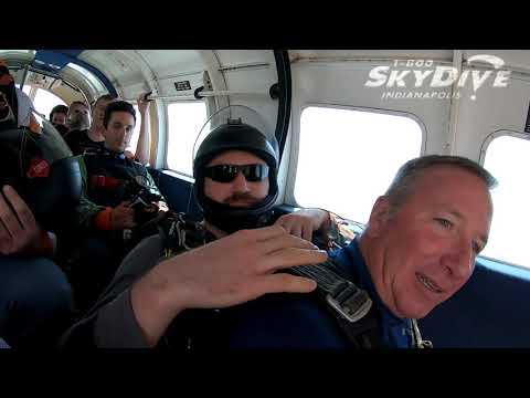 Jeffrey Fisher's Tandem Skydive!