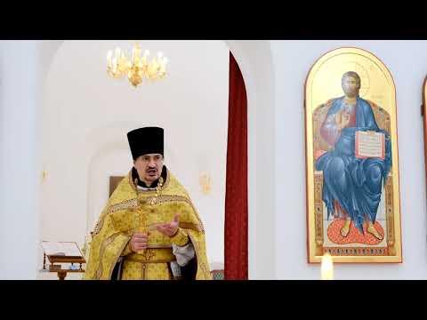 Проповедь отца Александра в воскресный день 11.07.2021