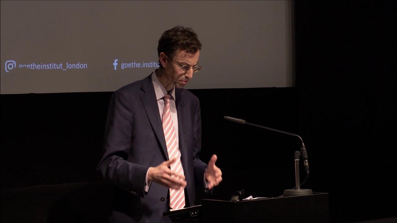 Brady Lecture 2018 - Professor Brendan Simms