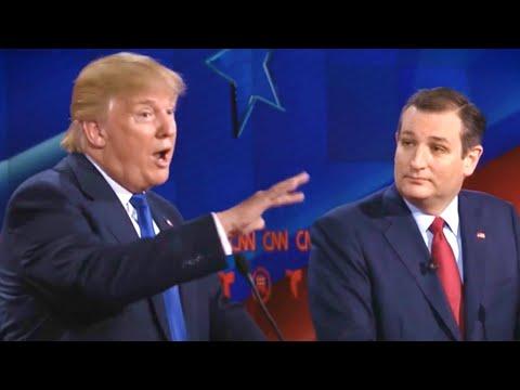 Donald Trump Bullies, Taunts Ted Cruz
