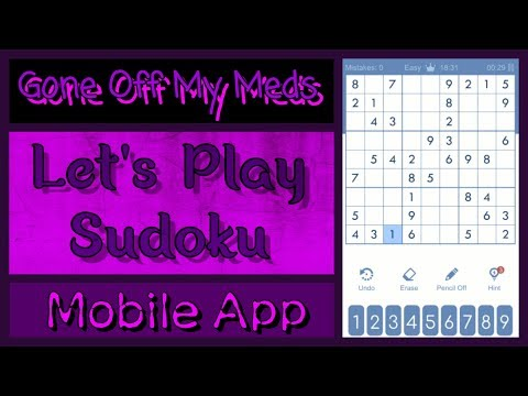 Let's Play ~ Sudoku Mobile App ~ GOMMTube #256