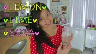 Make A Refreshing Summer Drink: Lemon Soda