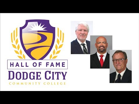 The 2018 Dodge City Community College Hall of Fame