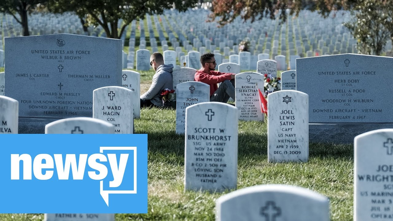 Arlington National Cemetery adapts to the pandemic as nation ...