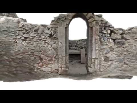 Animation of the 3D Archaeological Survey of St Piran's Oratory, Cornwall