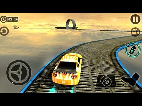 Impossible Stunt Car Tracks 3D #1 - Android Simulation Games #q | BamBi Tv - Android Gameplay FHD