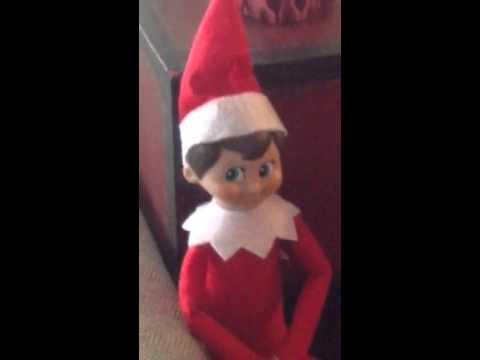 Elf On The Shelf Seen Moving By Mom Youtube