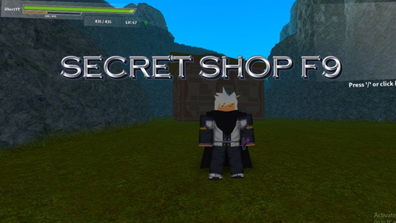 Floor 9 Hidden Shop Sword Blox Online Roblox Youtube