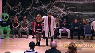 Christopher Dumond and Victoria Henk - Halloween Swingthing 2016 - 1st Place