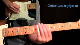 All Along The Watchtower Guitar Lesson Pt.4 - Jimi Hendrix - Slide Solo, Main Solo & Outro