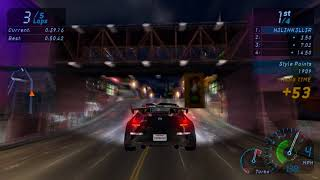 Need For Speed: Underground (PC) - Nissan 350z Race (60FPS) (HD)