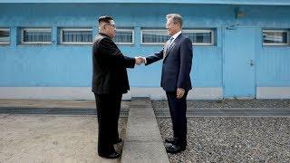 Исторический момент: Ким Чен Ын стал первым лидером КНДР, ступившим на южнокорейскую землю
