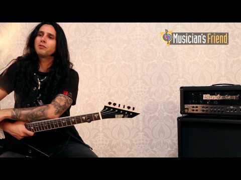 Musician's Friend Interview with Gus G - Signature AMP BlackFire