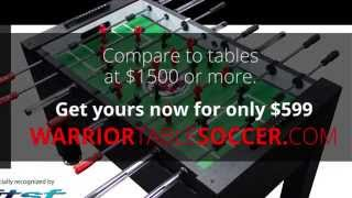 Warrior Foosball Table Why Its The Best!
