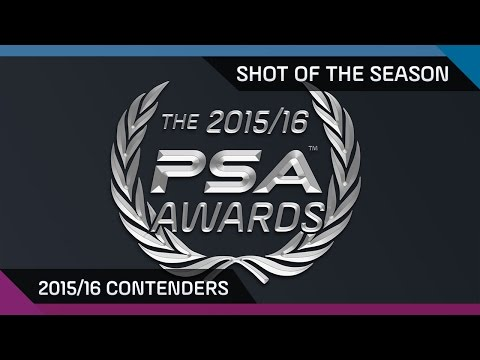 Squash: 2015/16 Shot Of The Season - The Contenders