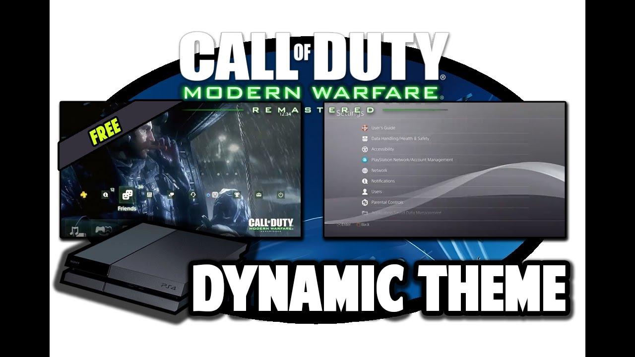 [PS4 THEMES] Call of Duty Modern Warfare Remastered Free Dynamic Theme Video in 60FPS