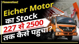strategies of share market:How share of Eicher motors went from Rs.227 to 25000