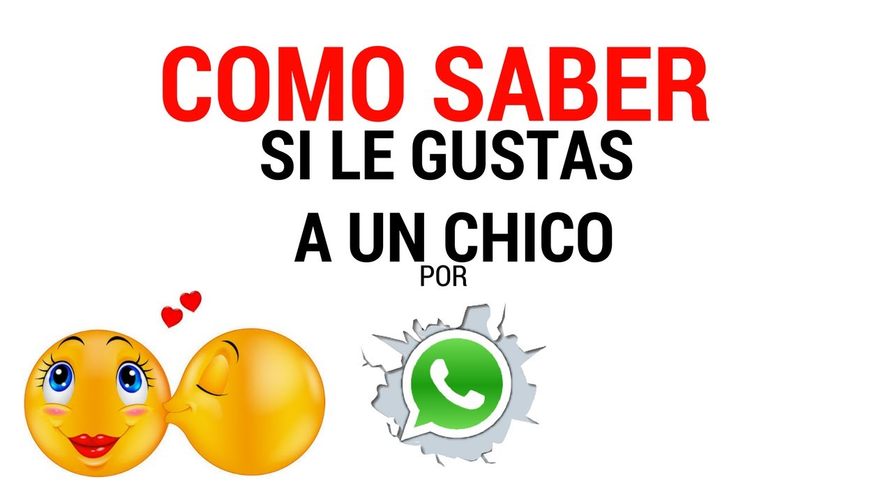 Como saber si le gustas a un chico por whatsapp youtube for Como disenar un departamento chico