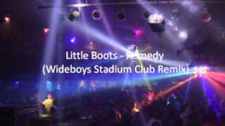 Little Boots - Remedy (Wideboys Stadium Club Remix)