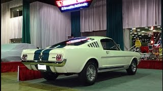 1965 Ford Mustang Shelby G.T. GT 350 Fastback & 289 Engine Sound on My Car Story with Lou Costabile