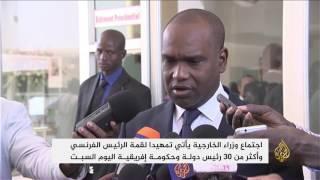 اجتماع وزراء خارجية فرنسا ودول أفريقية بمالي