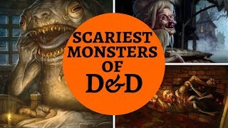 TOP 10 SCARY D&D MONSTERS