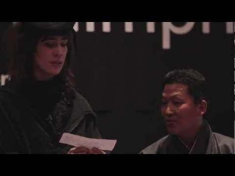 Bhutanese Farewell Song: Sonam Dorji and Imogen Heap at TEDxThimphu