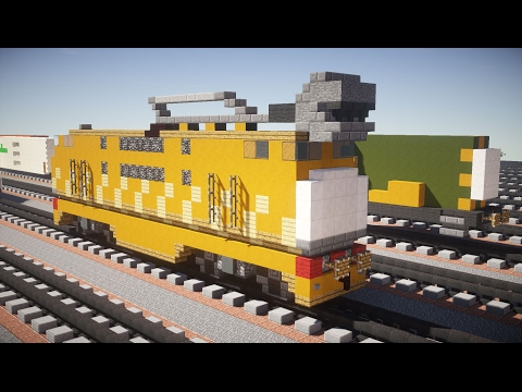 Minecraft Diesel 10 Thomas the Tank Engine Tutorial