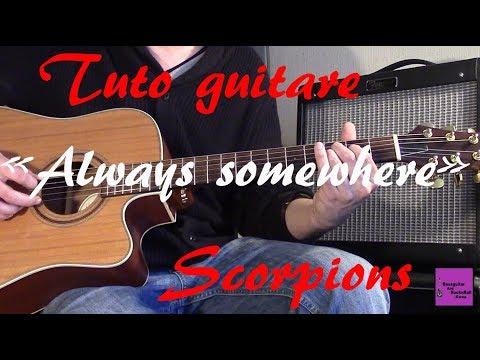 Tuto guitare - Always somewhere Part1- Scorpions +TAB
