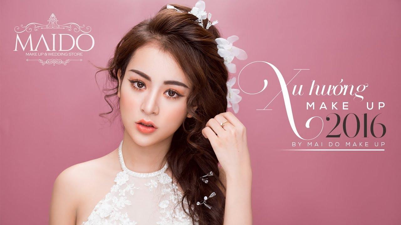 Hướng dẫn makeup tone CAM ĐÀO cho cô dâu by Mai Đỗ Makeup