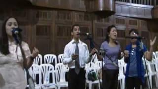 Sa Krus, Amen, Ama Namin (Tagalog for memorial acclamation, great amen, and Lord's Prayer)