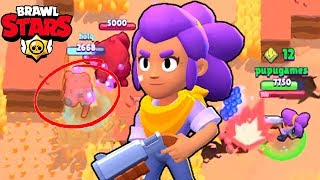 THE MIGHTY LUCKY SHELLY ! Brawl Stars Funny Moments Win Gameplay #1