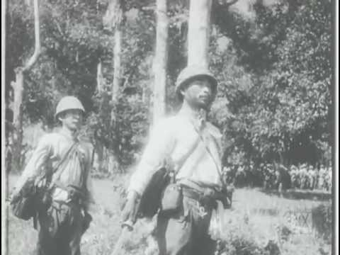 NEWSREELS 1942, Part 1 :  JAPANESE CAPTURE OF SINGAPORE