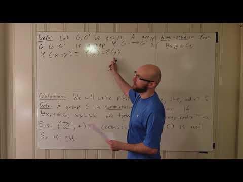 Algebra Lecture 1.2: Commutativity, Subgroups, Normality, Kernels