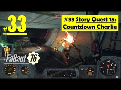 Fallout 76 - Mission Countdown Charlie | Control Room, Find way, Launch Nuke
