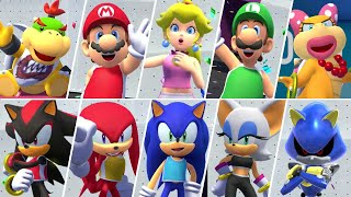 Mario & Sonic at the Olympic Games Tokyo 2020 - All Character Bronze / Silver Medal Animations