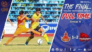 Thailand Youth League Highlight : อุดรธานี เอฟซี 1-2 ฉะเชิงเทรา ไฮเทค เอฟซี