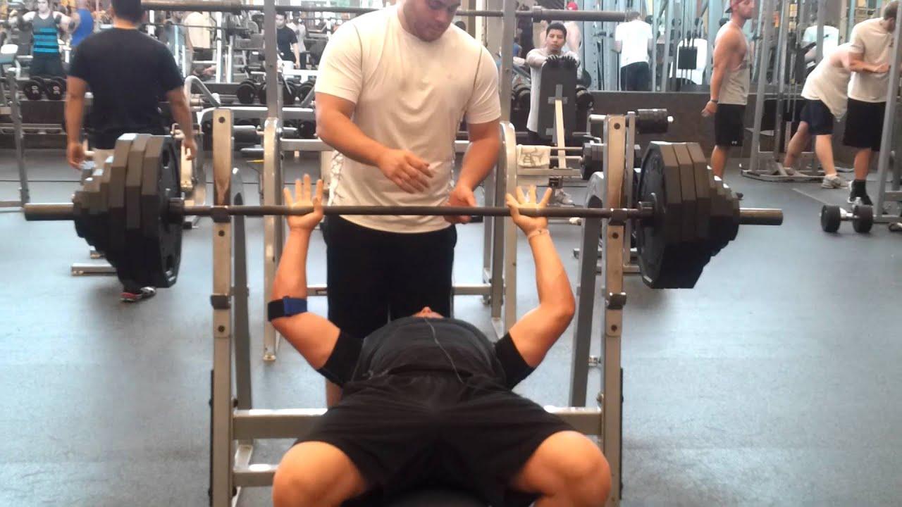 400 Lb Bench Press Club Part - 20: Josh Lambert 400lb Bench Press