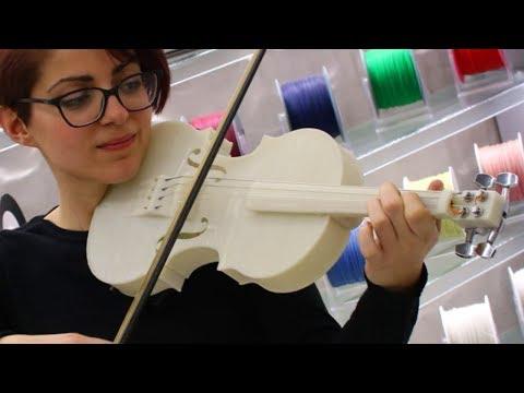 Come suona un VIOLINO Stampato in 3D?