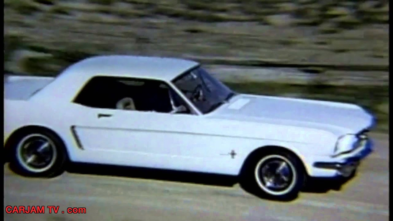 1965 ford mustang first generation original short promo commercial carjam tv hd 2014