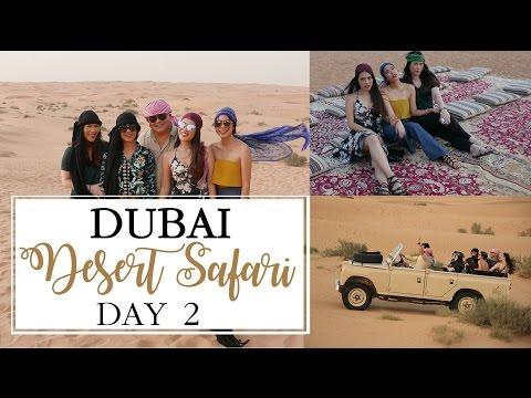 Dubai Desert Safari | What in my desert bag? | shot by drones