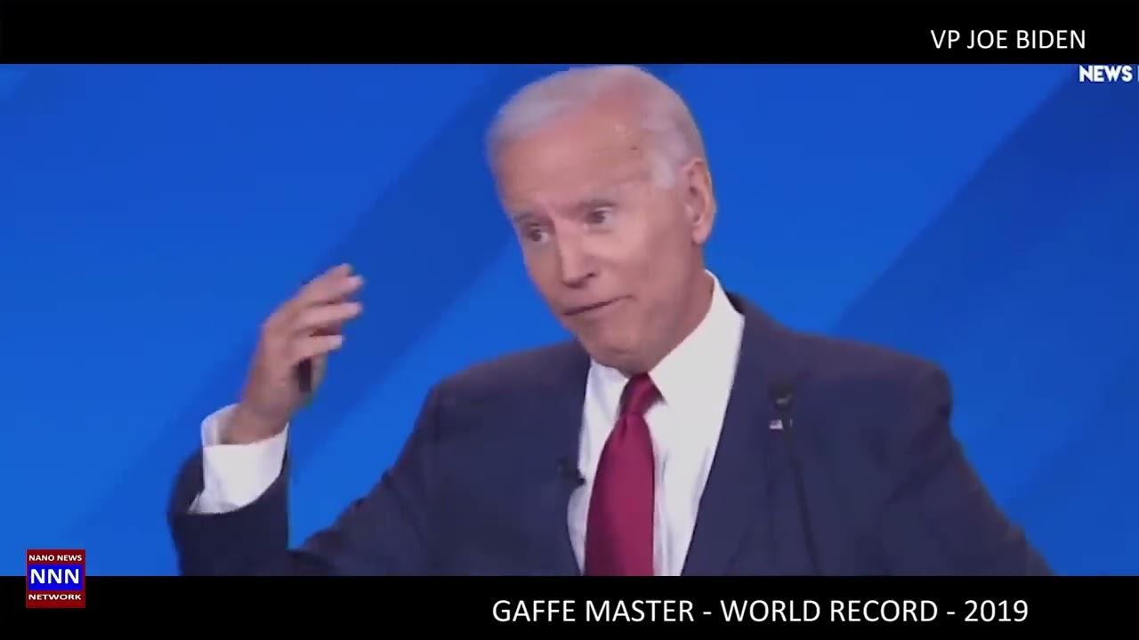 VP JOE BIDEN GAFFES   WORLD CHAMPION