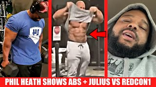 Phil Heath Shows Off His Abs + Julius Maddox Calls Out Redcon1 + Shawn Rhoden Training for Comeback?