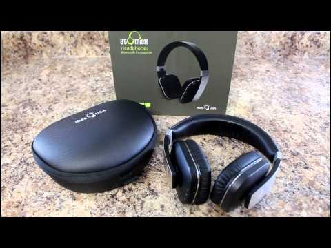 Review: Wireless Headphones, On Ear Apt X Bluetooth Headphones, Built-in Microphone