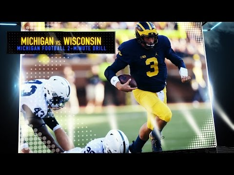 Michigan vs. Wisconsin Football Preview - 2 Minute Drill