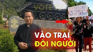 A brave protest, Vietnamese Priest go livestream in prison to demand the release of activist