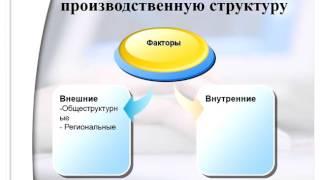 Вейнгардт К В  экономика организации  урок 3 Производственная структура предприятия