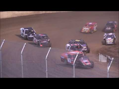 American Modified Series Heat #2 from Florence Speedway, October 22nd, 2016.