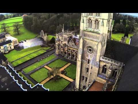 Downside School Aerial Film
