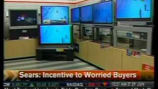 Incentive To Worried Buyers - Sears - Bloomberg